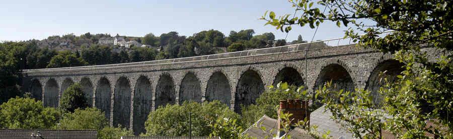 Hengoed viaduct
