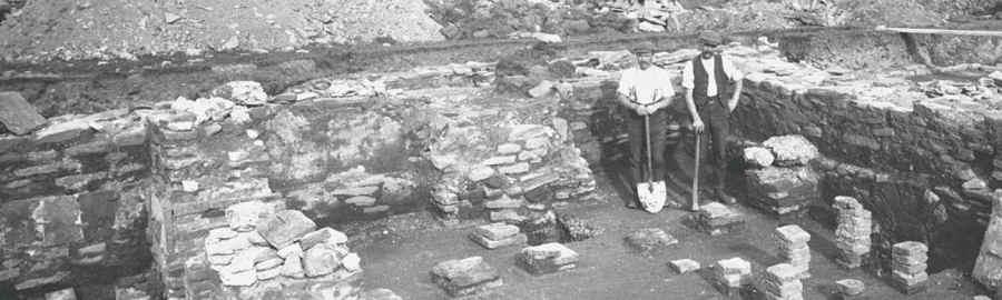 roman fort excavation
